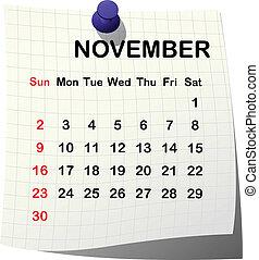 Kázový kalendář k nověmu roku
