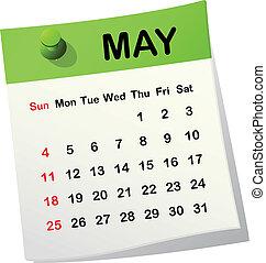 Kázový kalendář na rok 2005.