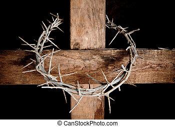 Kříž a koruna