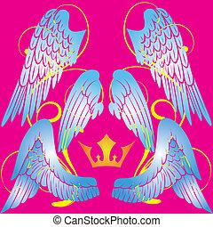 křídla, anděl