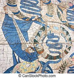 křesťanský, mozaika