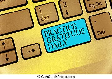 Každý den se píše textový vděk. Obchodní pojem je vděčný těm, kteří vám pomohli zkódovat klíčová klávesa, která vytváří počítačová struktura.