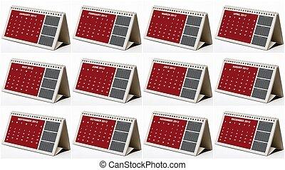 kalendáře 2012