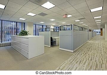 Kancelářská oblast s kostkami