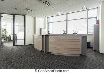 Kancelářská recepce