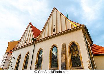 kaple, dávný hlavní město, betlém, praha, kaple, betlemska, republika, čech, czech: