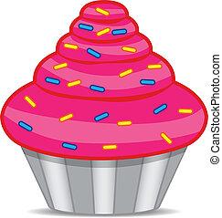 karafiát, cupcake