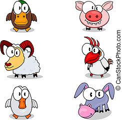 karikatura, živočichy
