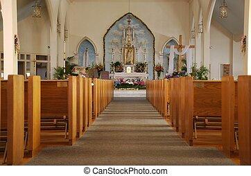 katolík, azyl, církev