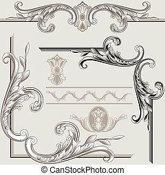 Klasické dekorační prvky