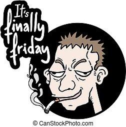 komický, pátek