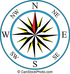 Kompasní ikon