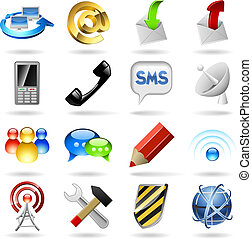Komunikační ikony