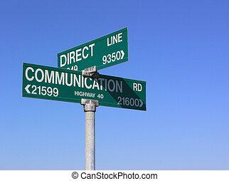 komunikace, bezprostřední