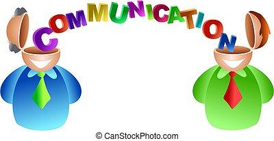 komunikace, mozek