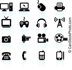 komunikace, technika, základy, design