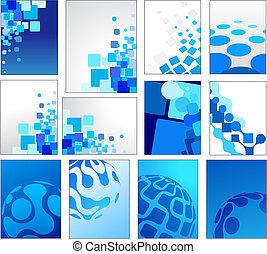 konzervativní, geometrický, vektor, grafické pozadí