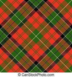 kostkovaná skotská látka, textured, tartan