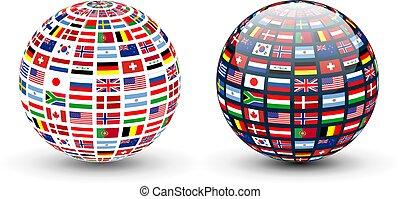 koule, vlaječka, společnost
