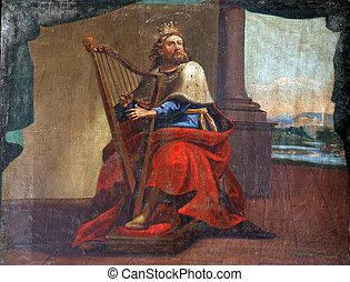 král, david
