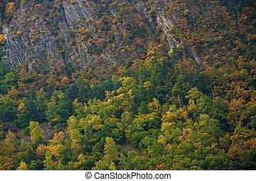 Krásná horská krajina