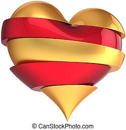 Krásný tvar srdce