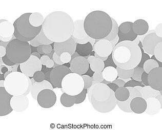 kruh, grafické pozadí, osamocený, neposkvrněný