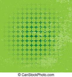 kruh, grunge, grafické pozadí