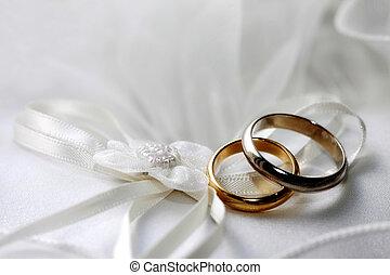 kruhy, svatba