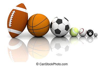 kule, sportovní