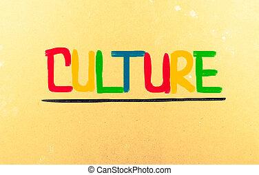 kultura, pojem