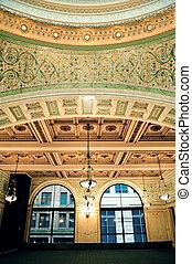 kulturní, centrum, chicago