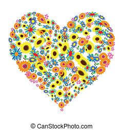 květinový, heart tvořit, design