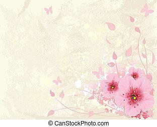 květinový navrhovat
