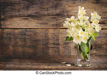 květiny, jasmín