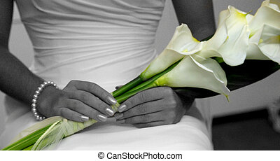 květiny, svatba