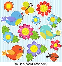 Kytice a ptáci