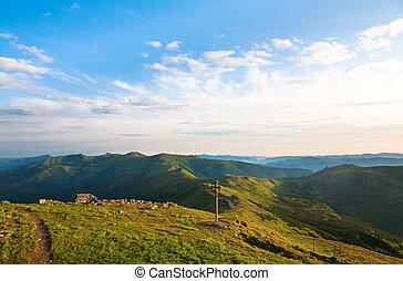 Létá horská krajina