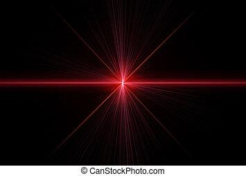 laser, paprsek