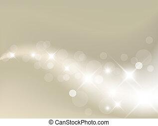 Lehký stříbrný abstraktní pozadí