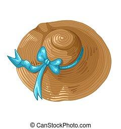 lem, oplzlý razidlo, ilustrace, hněď, klobouk