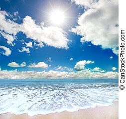 Letní pláž
