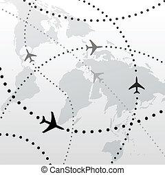 Letové letové plány na letu do letu