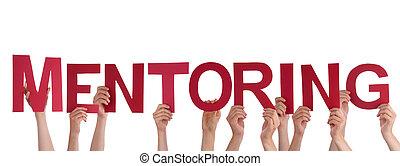 Lidé, kteří drží mentora