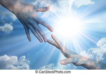 mír, naděje