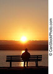 Mírové západy slunce