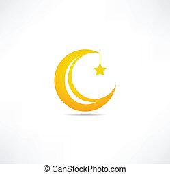 Měsíční ikona