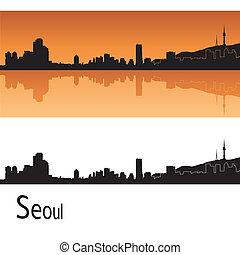 městská silueta, seoul