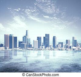 Městské město