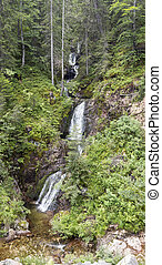 malý, hora, rhodopes, vodopád, řeka